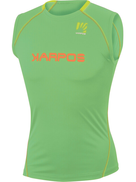 Karpos Fast - Camiseta sin mangas running Hombre - verde